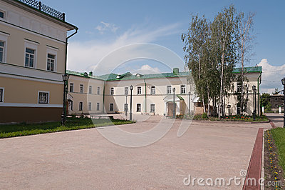 Orthodox school of St. John of Tobolsk. Tobolsk. Siberia. Russia Editorial Stock Photo