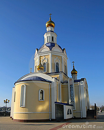 Orthodox temple. Russian Federation.