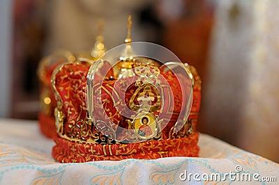 Orthodox wedding accessories