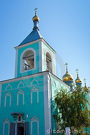 Orthodoxy Church in Uralsk