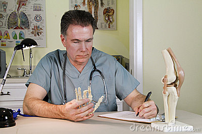 Orthopedic Teaching Tools Royalty Free Stock Photos - Image: 12162518