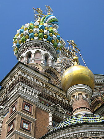 Free Ortodox Church In St.Petersburg Stock Photography - 8207862