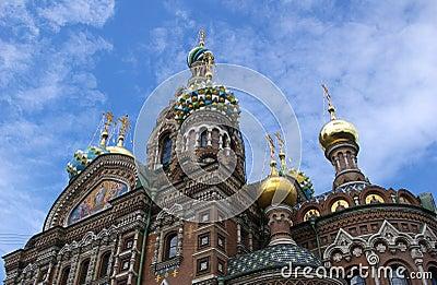 Ortodox church in St.Petersburg