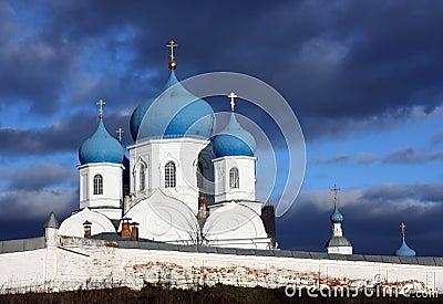 Ortodox monastery in  Bogolubovo. Russia
