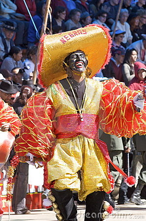 Oruro Carnival February 2009 - Oruro, Bolivia Editorial Stock Image