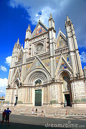 Orvieto Cathedral Editorial Stock Image