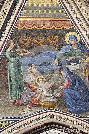 Orvieto Dome Facade Mosaic