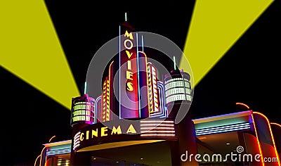 Os filmes, película, cinema, cinema