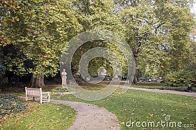 Os jardins de St George, Bloomsbury