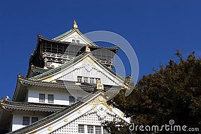 замок япония osaka