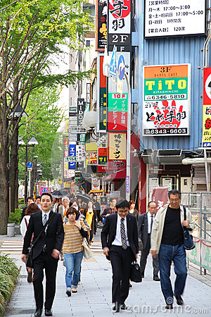 Osaka Editorial Image