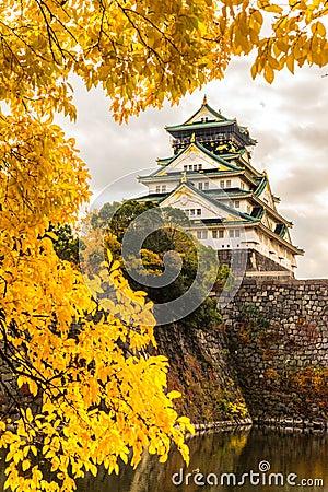 Free Osaka Castle In Osaka, Japan. Royalty Free Stock Photography - 50549047