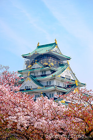 Free Osaka Castle, Japan Royalty Free Stock Photography - 84857527