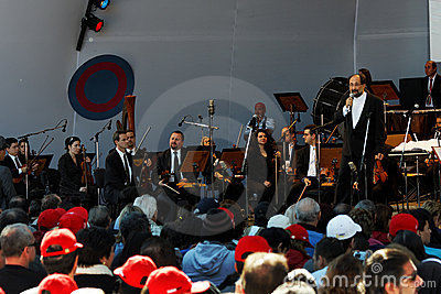 Osasco Orchestra Campos do Jordao Editorial Stock Image