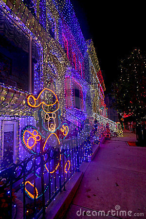 The Osborne Family Spectacle of Dancing Lights Editorial Stock Image
