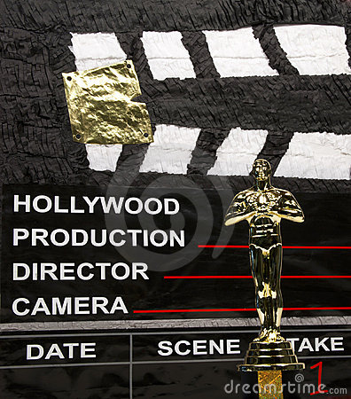 Oscar Award Editorial Stock Image