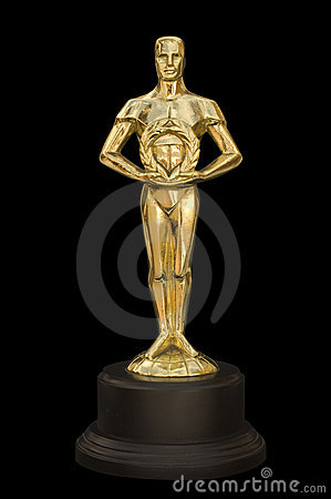 Statue Award Editorial Stock Photo