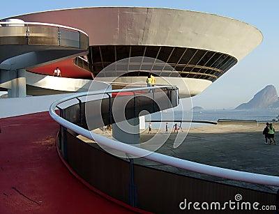 Oscar Niemeyer's Niterói Contemporary Art Museum