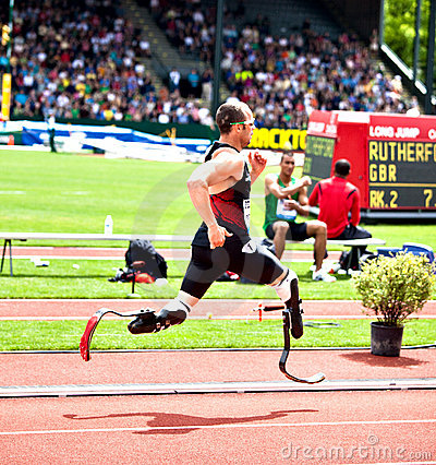 Free Oscar Pistorius Royalty Free Stock Photos - 21041028