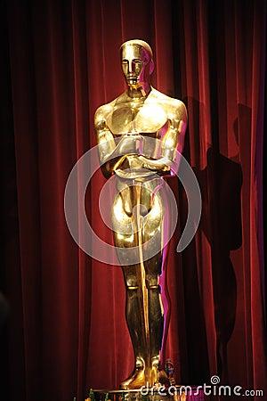 Free Oscar Statue Stock Image - 23340461