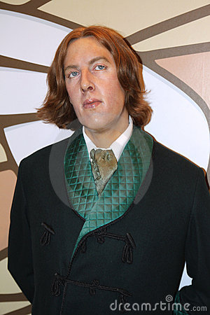 Oscar Wilde at Madame Tussaud s Editorial Stock Image