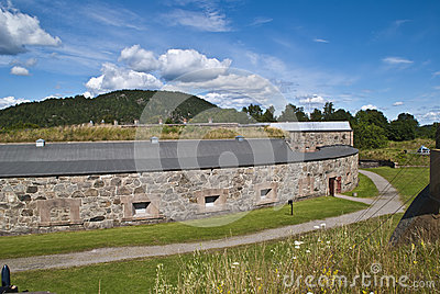 Oscarsborg fortress (defensive walls)