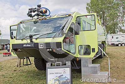 Oshkosh Corp Striker 3000 6x6 vehicle Editorial Stock Photo