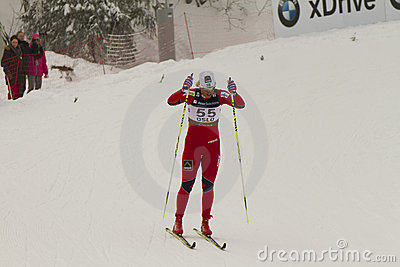 Oslo - FEB 24: FIS Nordic World Ski Championship, Editorial Image