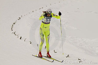 Oslo - FEB 24: FIS Nordic World Ski Championship, Editorial Stock Photo