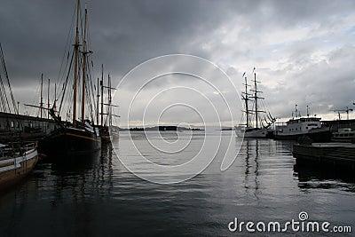 Oslo fjord, Oslo, Roads