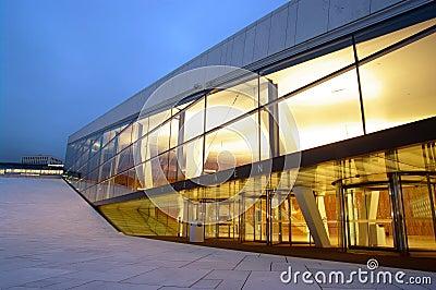 Oslo Opera House Editorial Photo