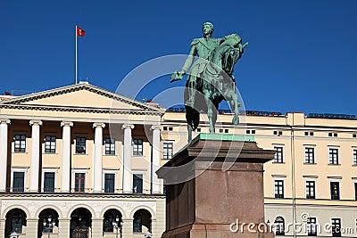 Oslo Pałac Królewski