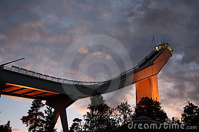 Oslo Skijump tower