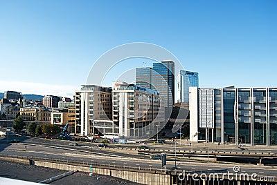 ^ - Oslo-Stadtzentrum, Moderne rchitektur edaktionelles Bild - Bild ...