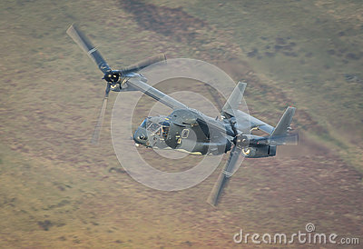 Osprey helicopter US Air Force Stock Photo