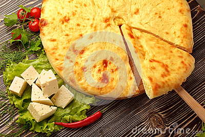 Ossetian Feta Cheese Pie