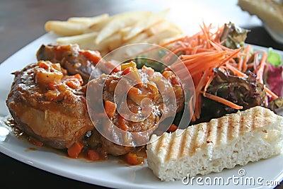 Ossobuco roast lamb