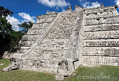 The Ossuary Chichen Itza