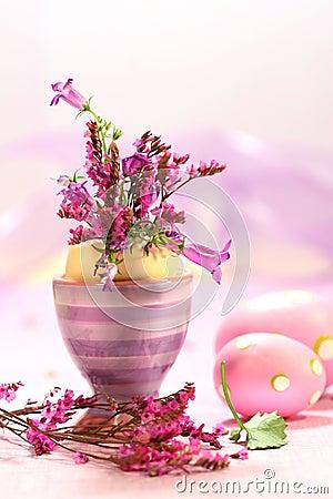 Ostern-dekorationen Mit Blumen