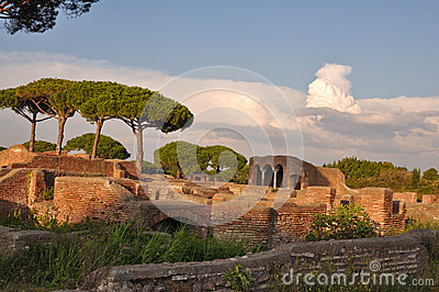 Ostia antica ancient city stock photo image 45868908 for Mr arredamenti ostia antica