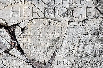 Ostia antica carved roman type stock photos image 31270563 for Mr arredamenti ostia antica