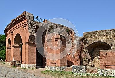 Ostia antica near rome in italy royalty free stock photos for Mr arredamenti ostia antica