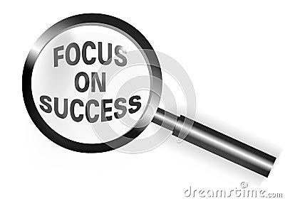 Ostrość sukces