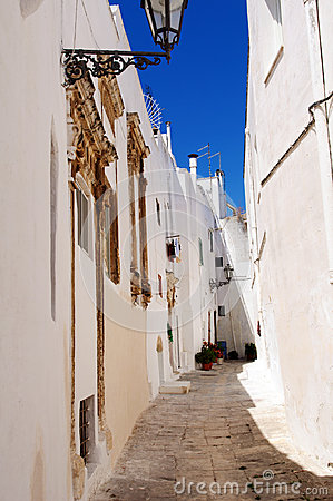 Ostuni lane in the Old Town