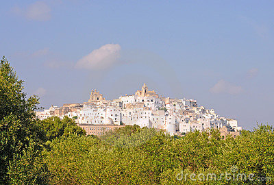 Ostuni, the white city in Italy