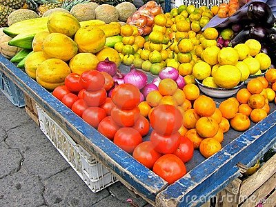 Otavalo Market Vegetables