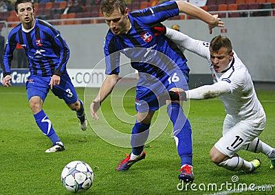 Otelul Galati - FC Basel Editorial Image