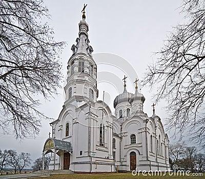 Othodox church of St. Simeon Stylites in Kamenets