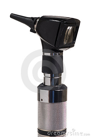 Otoscope close up