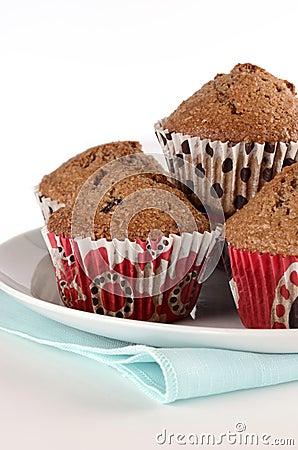 Otrębiaści muffins